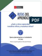 Fasciculo Primaria Ciudadania Ciclo III