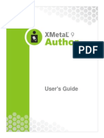 XMetaL Author Enterprise User's Guide