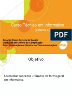 Aula 1 - Introducao Informatica - SO