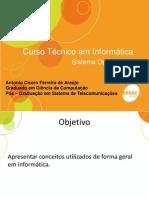 Aula 1 - Introducao Informatica - SO