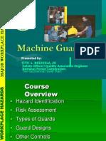 Machine Guarding Power BOSH TRAINING March 2-6, 2009