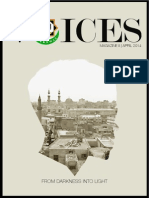 Our Voices Magazine II | Ignorance - April 2014 Issue