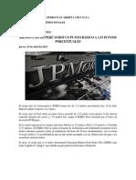 Noticia de Negocios Internacionales RIESGO PAIS