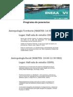 Programa de Ponencias ENEAA 2014