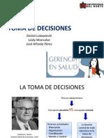 La Toma de Decisiones Final Gerencia