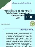 [CNSL Bolivia 2005]Convergencia de Voz y Datos, telefonia por internet con software libre VoIP