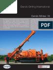 Dando Mintec-18 - Mineral Exploration Rig Australia (www.dandodrillingaustralia.com)