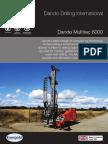 The Dando Multitec-6000 Multipurpose Drilling Rig Australia