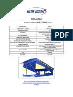 Ficha Tecnica Nivelador Hidraulico 6'x8'3 - BLUE GIANT