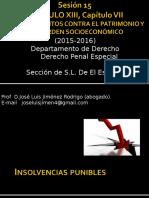 sesión 15 Insolvencias Punibles 1