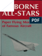 Airborne All Stars - Paper Flying Models of Famous Aircraft
