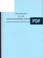 Linear Systems & Signals Solutions Manual