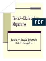 Equacoes de Maxwell e Ondas Eletromagneticas