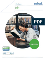 QuickBooks CUser Study Guide