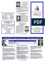 2004 Taxpayers League of Minnesota Scorecard