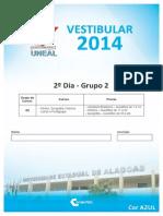 Uneal g2 2014 Modelo Azul