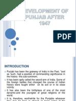 Development of Punjab After 1947