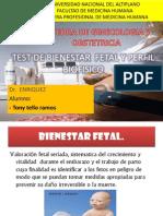 Test de Bienestar Fetal - Perfil Biofisico