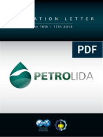 Invitation Letter Petrolida 2014