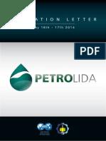 Invitation Letter Petrolida 2014