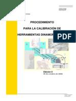 1. Procedimiento para la calibración de Herramientas Dinamométricas