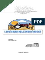 Informe de Mecanización Agrícola