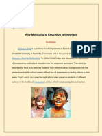 Why Multicultural Education is Important