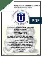 Monografia Tema El Existencialismo