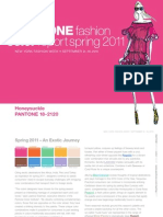 Pantone fashion Colour report