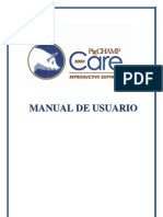 Manual del software PigCHAMP Care 3000 - Español