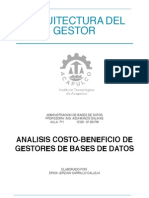 [Bases de Datos] Costo-beneficio