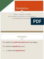 Aula 33 Semantic A