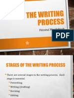 Meeting 01 - The Writing Process