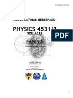 Physica SPM Experiments by Chapter Practice