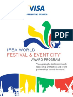 IFEA World Festival & Event Awards Brochure 2013