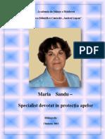 Maria Sandu.bibliografie