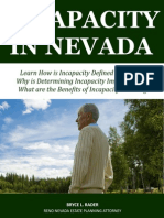 Incapacity in Nevada