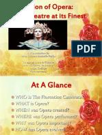 the evolution of opera