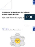 Desarrollo WIFI Vzla