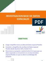 Investigacion Base Datos Espaciales