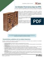 1_Caracteristicas de Los Estados Financieros Bajo Las IFRS