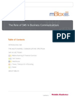 Role of SMS in Biz Communication