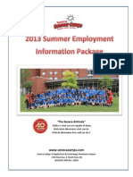 Employment Package 2013