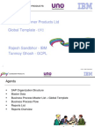 OTC Processes Global Template