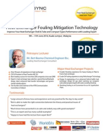 Heat Exchanger Fouling Mitigation Technology