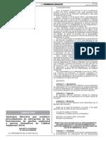 Directiva Adecuacion Instrumento Gestion Amb