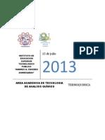 TERMOQUÍMICA - 2013 PDF