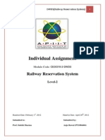 (Train Reservation System) Documentation