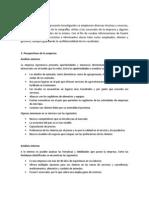 Análisis FODA de Agromarva