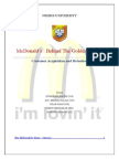Marketing Strategies of McDonalds